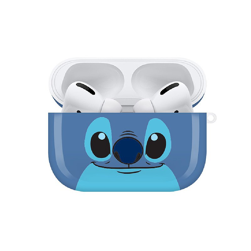【Hong Man】迪士尼系列 Airpods Pro耳機保護套 大臉系列 史迪奇