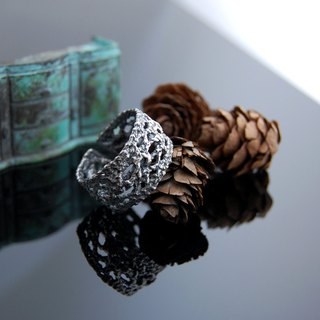 Lace Walking Silver Ring - Number 9 (retro. Live Wai)