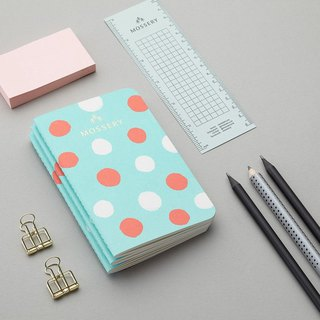 Candy Polka Pocket Notebook
