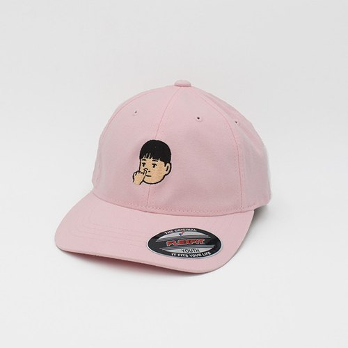 Flexfit old hat child models X Plenty joint models _ brother dig nostrils (pink)