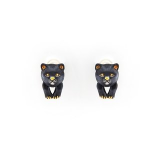 Jaguar Baby Tiger Earrings