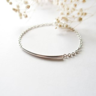 925 Silver  Good-mood Smile-shaped Bracelet