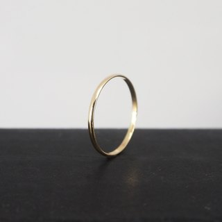 No.251.2 SILK THREAD RING Gold Wire Ring (Smooth) - 14K GF