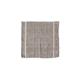 INDIA CLOTH 60 Cotton Home Furnishing - Grey Stripe