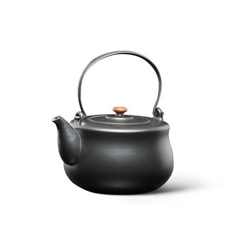 Pottery Workshop│Black Pottery Kettle