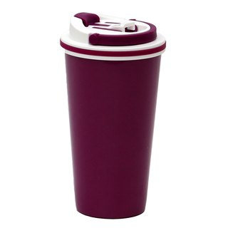 La Lakou stainless steel insulation cup -500ml (cherry red)
