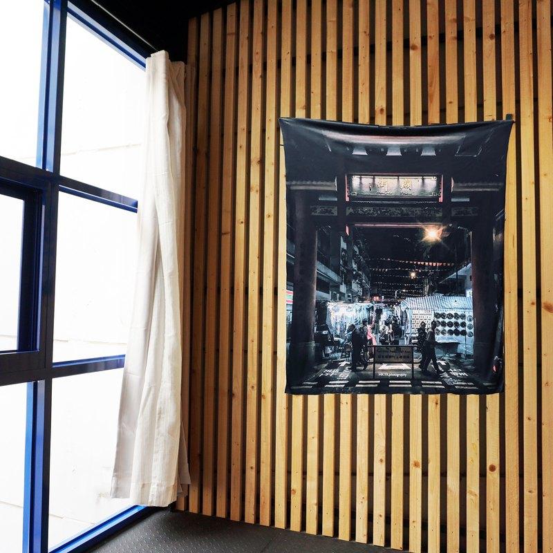 免費訂製你的專屬壁幔 家飾 布幔 BM10 香港廟街 Wall Tapestry
