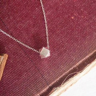 Wishing pebbles necklace in sterling silver