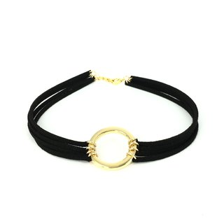 Golden Circle Four Neck Necklace