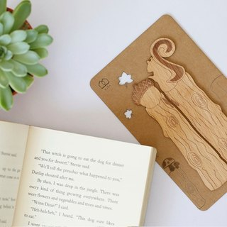 Only you in the eyes - wooden bookmarks (2 in) - [VUCA-Design] can be purchased for customization