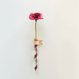 Wonder-Carnation Leather Hanging Bunch - Han Honghua - Mother's Day/Gift/Bouquet/Leather/Mom