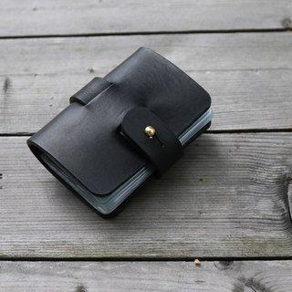 <隆鞄工坊>Denim gentleman series (black)-business card holder/card holder/card storage
