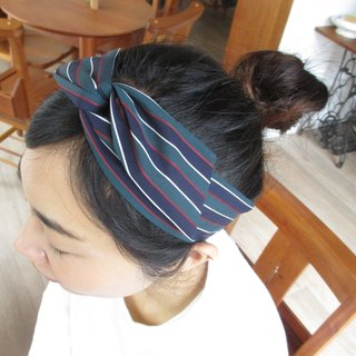 Turn the hair band (manual) - bow tie ears - the marginal line