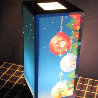 The real thrill of holy night Christmas starry sky medium form · white ball decorative light stand!
