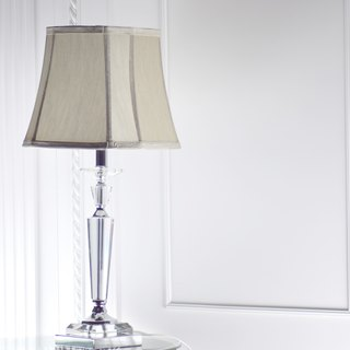 European style palace cover crystal table lamp