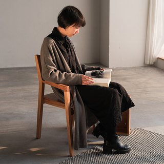 熹山工房- 丘田系列-Solid wood furniture-Design home-BACKBACK ARMCHAIR