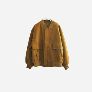 Dislocated vintage / suede jacket coat no.901 vintage