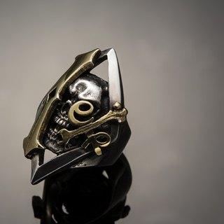 Let's Ride Collection | 1% er Skull Rider Ring | 1% er Skeleton Knight Ring