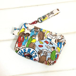 ✎ Japan zipper purse | Where'sWally? Where is Willy? Red