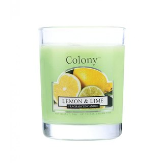 British Fragrance Colony Series Lemon and Lemon Small Cans Glass Candle