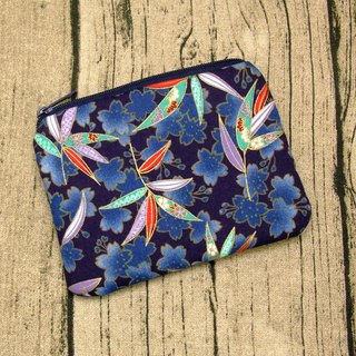 Zipper pouch / coin purse (padded) (ZS-249)