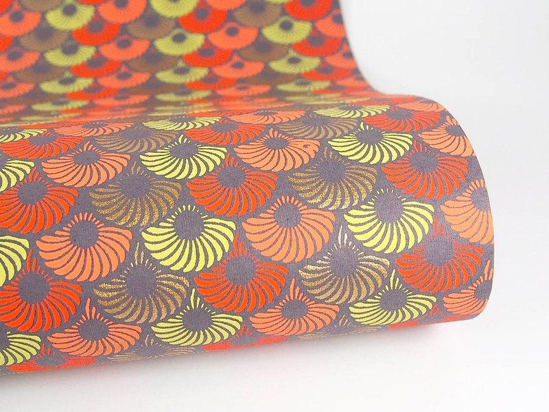 Shizen 經典幾何圖騰 手工包裝紙