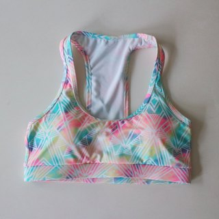 Top Swimwear - Graphic pastel