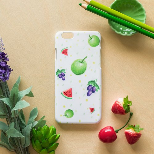 Colorful Summer Fruit . Matte Case( iPhone, HTC, Samsung, Sony, LG, OPPO)