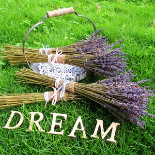 ❤ [South wind ─ French countryside of Provence lavender flowers and dried lavender bouquet] ❤ graduation bouquet wedding small wedding was arranged birthday bouquet lace small outdoor photo wedding photo home decoration
