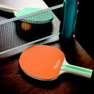 SUSS-UK Wild and Wolf good storage retractable retro style table tennis racket net combination