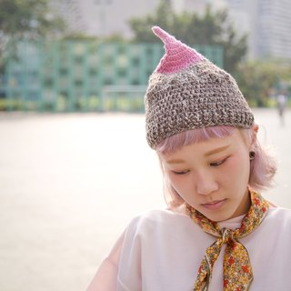 choco_nimple crochet hat. limited edition