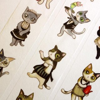 Cat Cafe Paper Tape