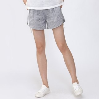 BUFU Vertical stripes shorts   P140606