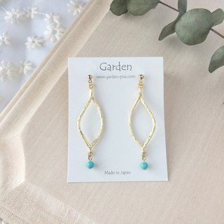 eda earrings blue