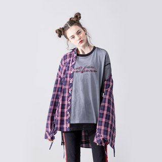 UNISEX LACE UP SIDE SHIRT