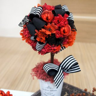 Handmade rock party, no flower, christmas flower ball tree (photograph props, Christmas decoration, Christmas arrangement)