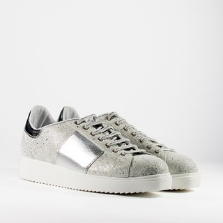 ITA BOTTEGA [Made in Italy] silver white totem platform casual shoes