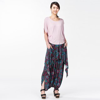 Bohemian tiered trousers - can be worn in two (suits / hakama)