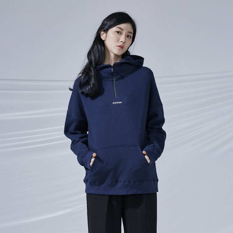 DYCTEAM - Waterproof Zipper Hoodie 刷毛拉鍊帽TEE