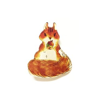 SQUIRREL BROOCH -02