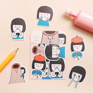 Yohand Daily / Medium Sticker Set 3-2