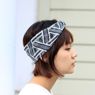 【The MAMA's Closet】Triangle(Grey) / Knitted Headband