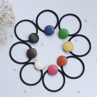 Round leather hair bundles**3 into a group**