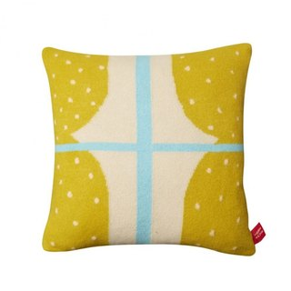 Window Pure Wool Pillow - Yellow | Donna Wilson