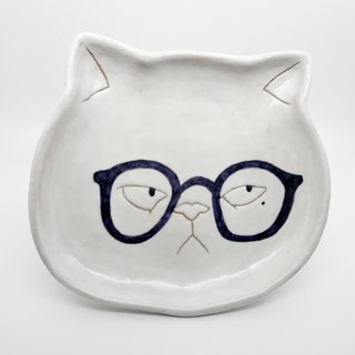 [Attitude so what] cat scholars shallow dish