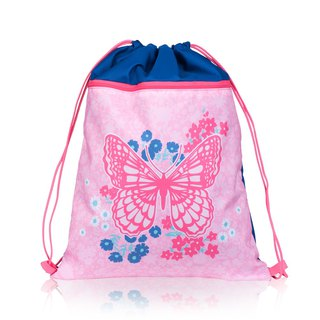 Tiger Family British Drawstring - Cowboy Butterfly