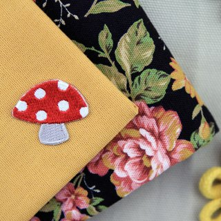 Magical mushroom self-adhesive embroidered cloth - Forest Series
