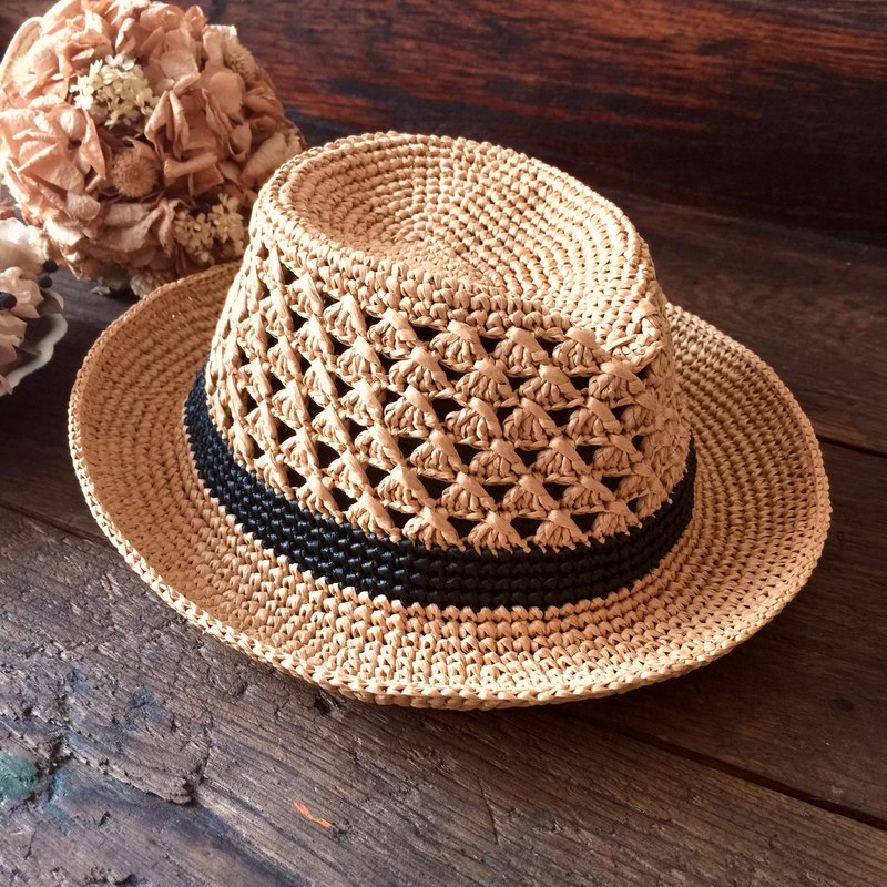 Wait for the results will not necessarily have to walk the sun shine hat (villain) / braided hat / paper pull Philippine straw hat〗 〖jump house crazy hand