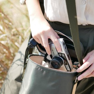 KIT bucket camera bag - Olive green