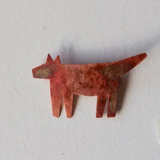 wolf broach (burnet copper)